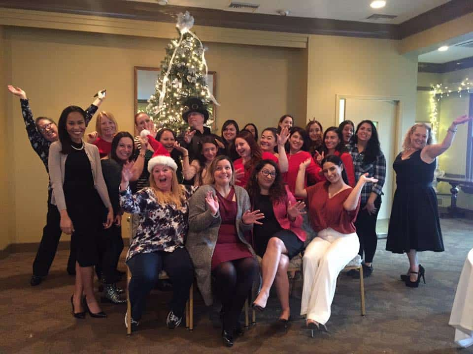 Holiday party for the Ladies